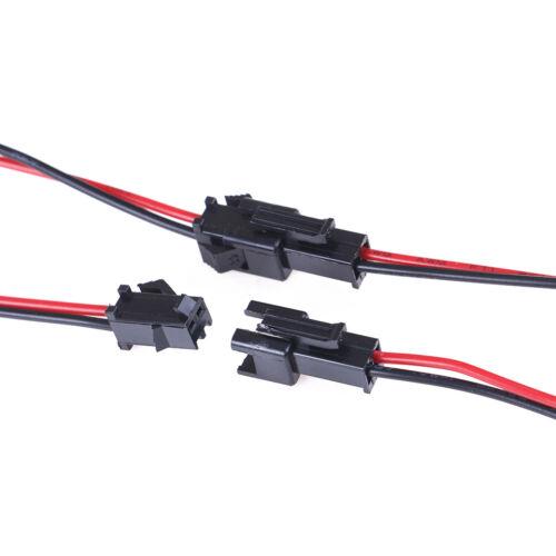 satz 2Pin 10 cm Stecker Draht Kabel M4W 10 paare