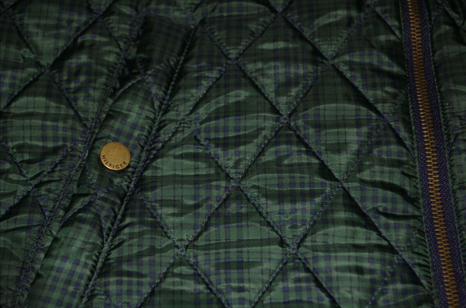 Vintage Tommy Hilfiger Quilted Reversible Women's… - image 5