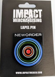 New-Authentic-LIMITED-EDITION-New-Order-Blue-Monday-Enamel-Pin-1-25-034-Collectible