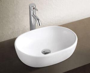 Aufsatz-Keramik-Waschbecken-Marina-2-0-Weiss-48cm-Handwaschbecken-Badezimmer-Bad