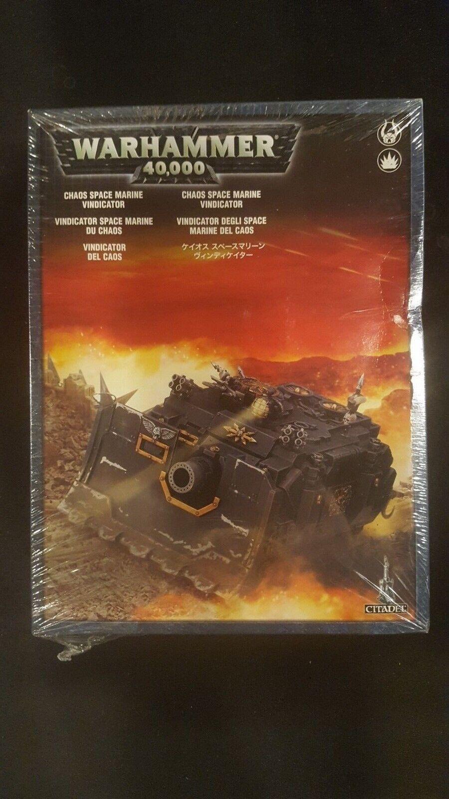 Warhammer 40.000  chaos vindicator gw 43-31 plastik nib