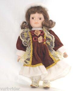 AgréAble Bambola Porcellana - Porcelain Doll - #3 Nuovo Une Gamme ComplèTe De SpéCifications