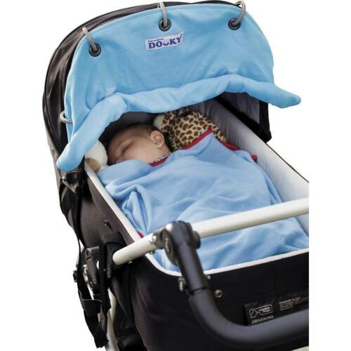 Universal Baby Infant Carrier Car Seat Buggy Pram Sun Shade Canopy Sunshade Blue
