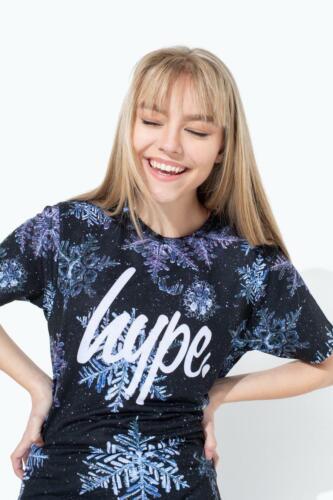 Hype Snowflake Script Kids T-Shirt