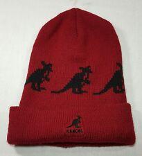 VTG Kangol Australia Stocking Cap Beanie 90's Hat Made in USA Logo Hip-Hop