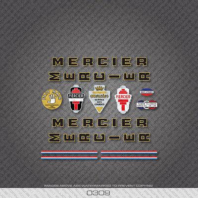 0309 Mercier Bicycle Stickers Decals Transfers