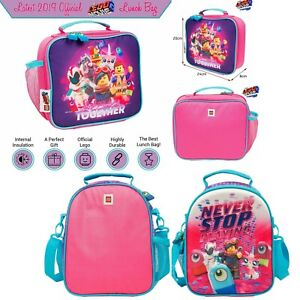 Pink Panther Cool Insulation Canvas Lunch Bag Kawaii Present Summer Student