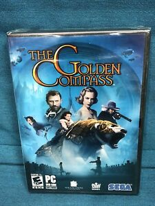 NEW! THE GOLDEN COMPASS (PC, 2007) Windows Movie Video Game FACTORY SEALED