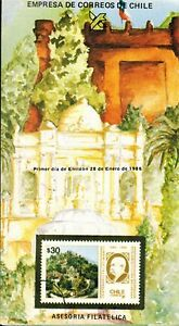 Chile-1986-Brochure-Centenario-Fallecimiento-Benjamin-Vicuna-Mackenna