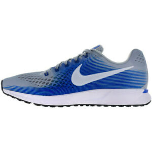 297b18bbd671 Nike Men s Air Zoom Pegasus 34 - Wolf Grey White-Racer Blue (880555 ...