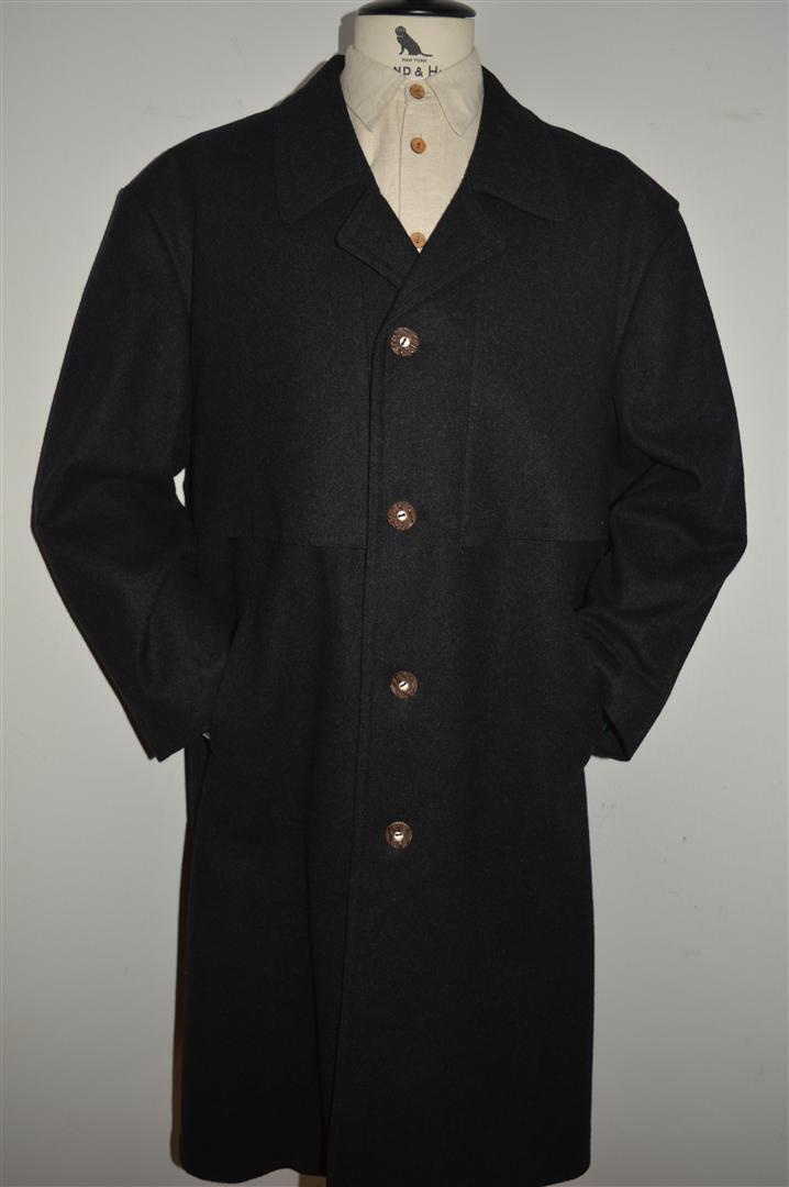 TIROLER LODEN Austrian Trachten TIROL Boiled Wool Cape Coat men L 42S 44S Short