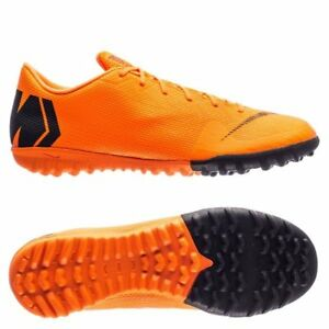 a64b30b04180 Nike Mercurial VaporX Academy XII TF Turf 2018 Soccer Shoes Orange ...