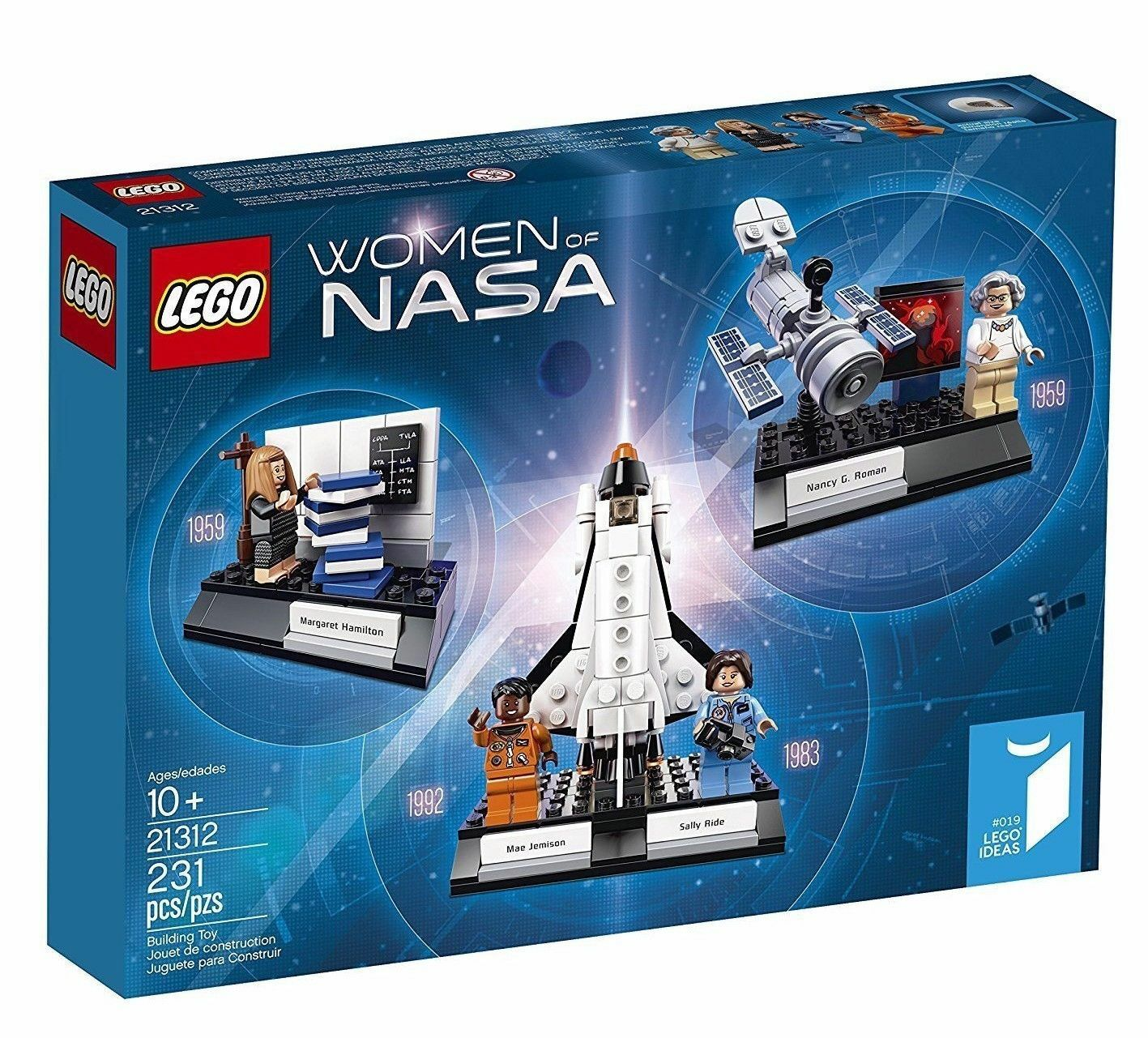 (2) lot LEGO New Sealed  Women of Nasa Building Kit (Ltd Edition) Sold Out