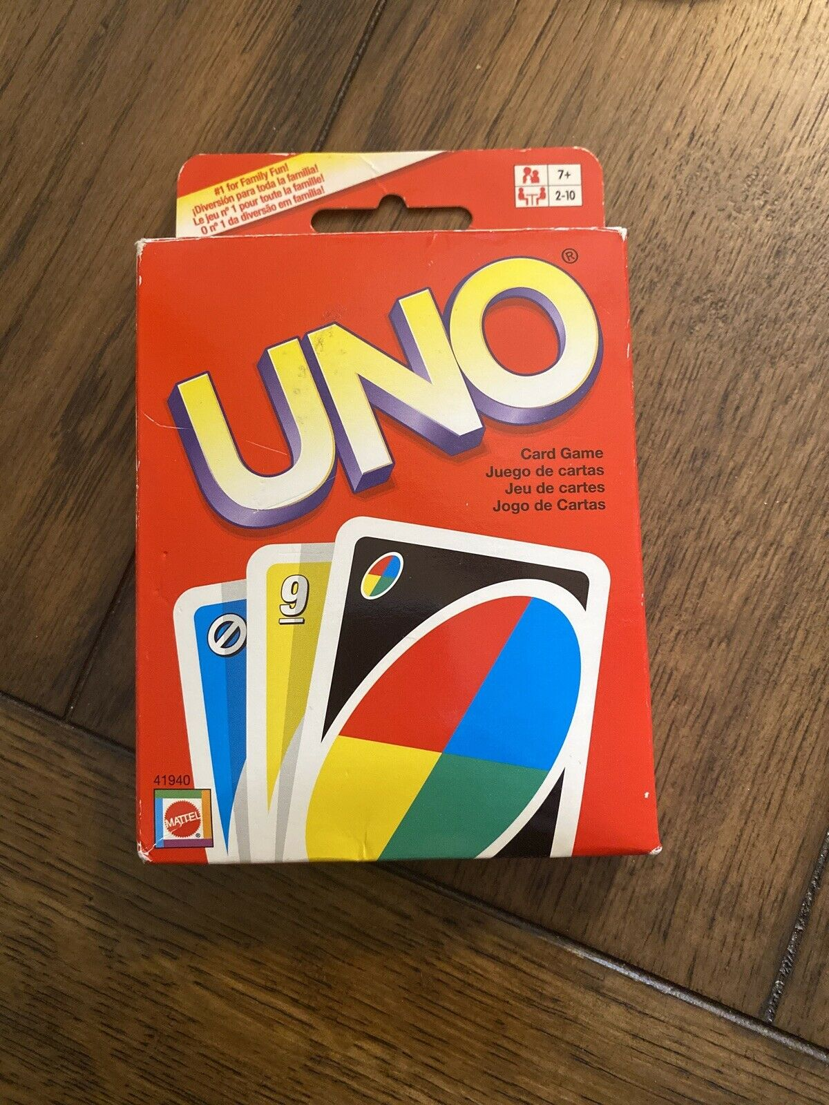 Made in USA Uno Card Game USA Themed Brand New