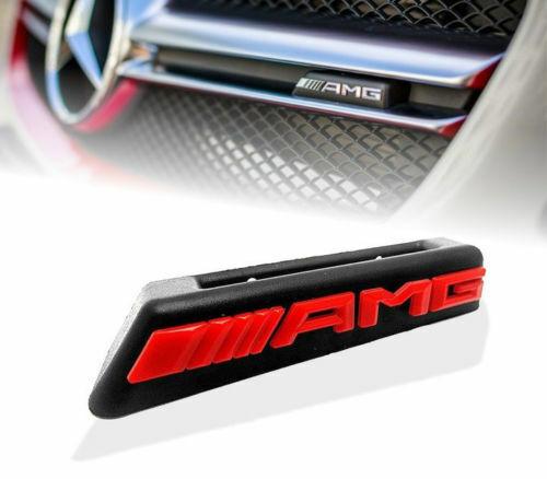 Neuf AMG Emblème Radiateur Diamant avant Grille Badge Adapté C43 E43