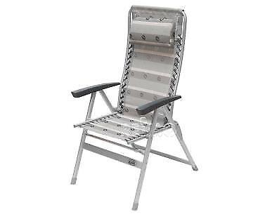 Camp 4 Malaga Compact 2 (Grafik) Reclining Camping Chair