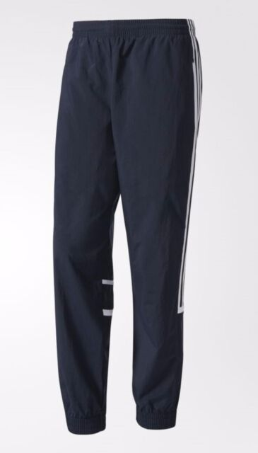 NEW MEN/'S ADIDAS ORIGINALS BERLIN TREFOIL WIND TRACK PANTS ~ SIZE LARGE   BK7245