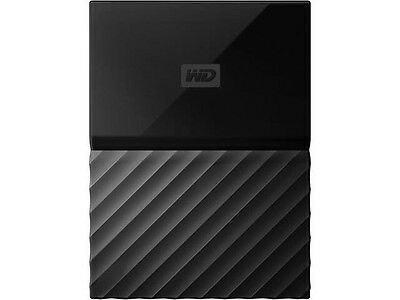 WD® My Passport WDBP6A0040BBK-WESN 4TB USB 3.0 External Hard Drive, Black/Gray