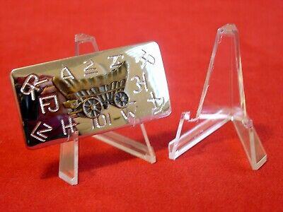 "Display Stands For Belt Buckle Money Clip Paper Money *20 Premium 3/"" 36A"