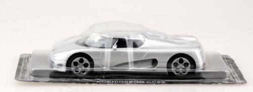 Königsegg CC8S silber Blister 1:43 Ixo//Altaya Modellauto
