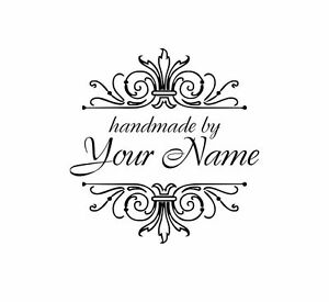 UNMOUNTED-PERSONALIZED-HANDMADE-BY-RUBBER-STAMPS-H76