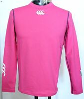 Cardiff Blues L/s Pink Cold Base Layer By Canterbury Size Medium Girls Brand