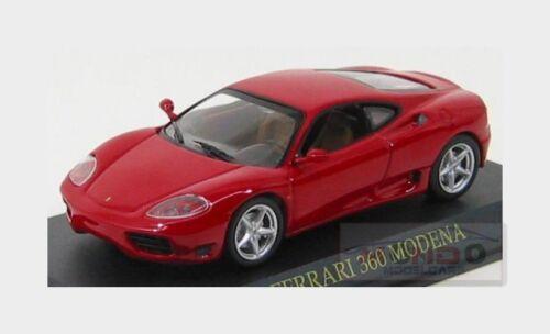 Ferrari 360 Modena 1999 Red EDICOLA 1:43 FABFERC001