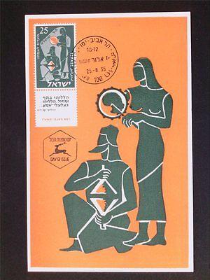 Stamps Music Israel Mk 1955 Musikinstrumente Zimbel Maximumkarte Maximum Card Mc Cm C5625 Demand Exceeding Supply