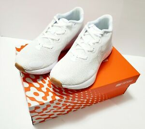 Nike-Renew-Run-Men-s-Running-Shoes-White-Gum-Athletic-Sneakers-Trainers-Size-9