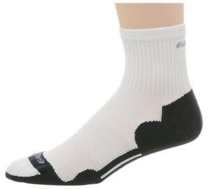 Brooks Gossamer Trimestre Longueur Med Amorti Running Sock Large (w11+, M10-12)-afficher Le Titre D'origine