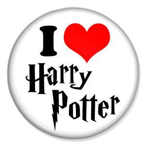 580385a01 HARRY POTTER - I Love Harry Potter 25mm 1
