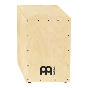 meinl hcaj100nt headliner birch cajon w dual snares natural finish 840553075564 ebay. Black Bedroom Furniture Sets. Home Design Ideas