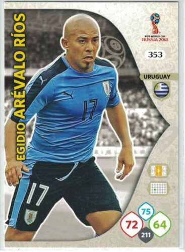 PANINI FIFA WORLD CUP Russia 2018 ADRENALYN XL Uruguay cartes pour sélectionner
