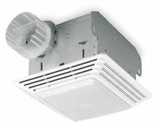 "BROAN 678 Bathroom Exhaust Fan 8""L x 8-1/4""W, Lighted 120V"