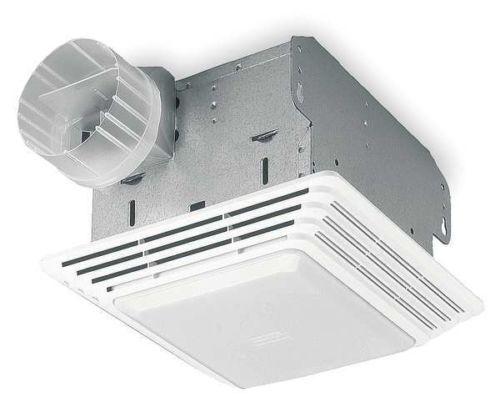 "BROAN 678 Bathroom Exhaust Fan 8/""L x 8-1//4/""W Lighted 120V"