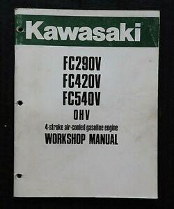 Kawasaki-FC290V-FC420V-FC540V-4-STROKE-Air-Cooled-Gasolina-Motor-Servicio-Manual