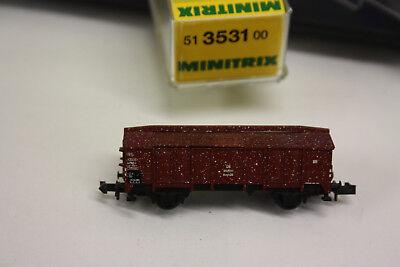 Minitrix Spur N 3531 Klappdeckelwagen Db Top!ovp Model Railroads & Trains Toys & Hobbies Ki3/27 High Quality Goods