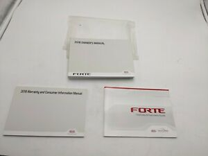 2018 Kia Forte Owner's Manual Set With Case