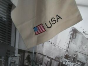 High-Tech-Microfiber-Golf-Towel-with-Hanging-Clip-USA-Flag-Embroidery-24-X-16