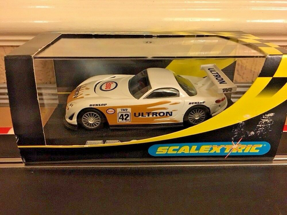 Scalextric TVR Speed 12 Esso Ultron No42 C2189  Mint Boxed