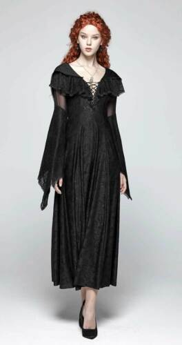Wicca medievale Witch Dress Punk Witch Carisa Rave Dress Dress Elves Gothic n4vqzwv6RB