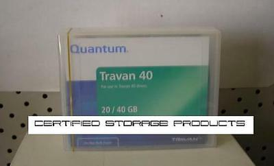 NEW QUANTUM 40GB TR7 Travan 40 Data Tape Cartridge TR-7 42467 15874 CTM40 SEALED