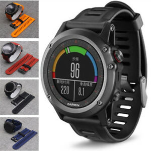 Replacement-Silicone-Smart-Watch-Wrist-Band-Strap-Tools-For-Garmin-Fenix-3-HR