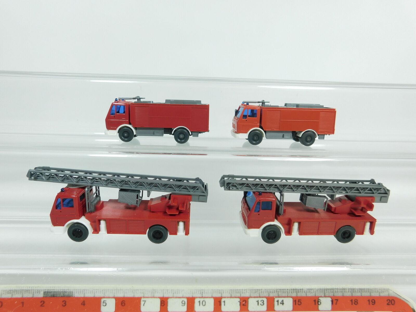 BD351-0,5x BD351-0,5x BD351-0,5x Wiking H0 1 87 Feuerwehr FW-MB  618 Drehleiter+Löschfahrzeug, NEUW f338c2