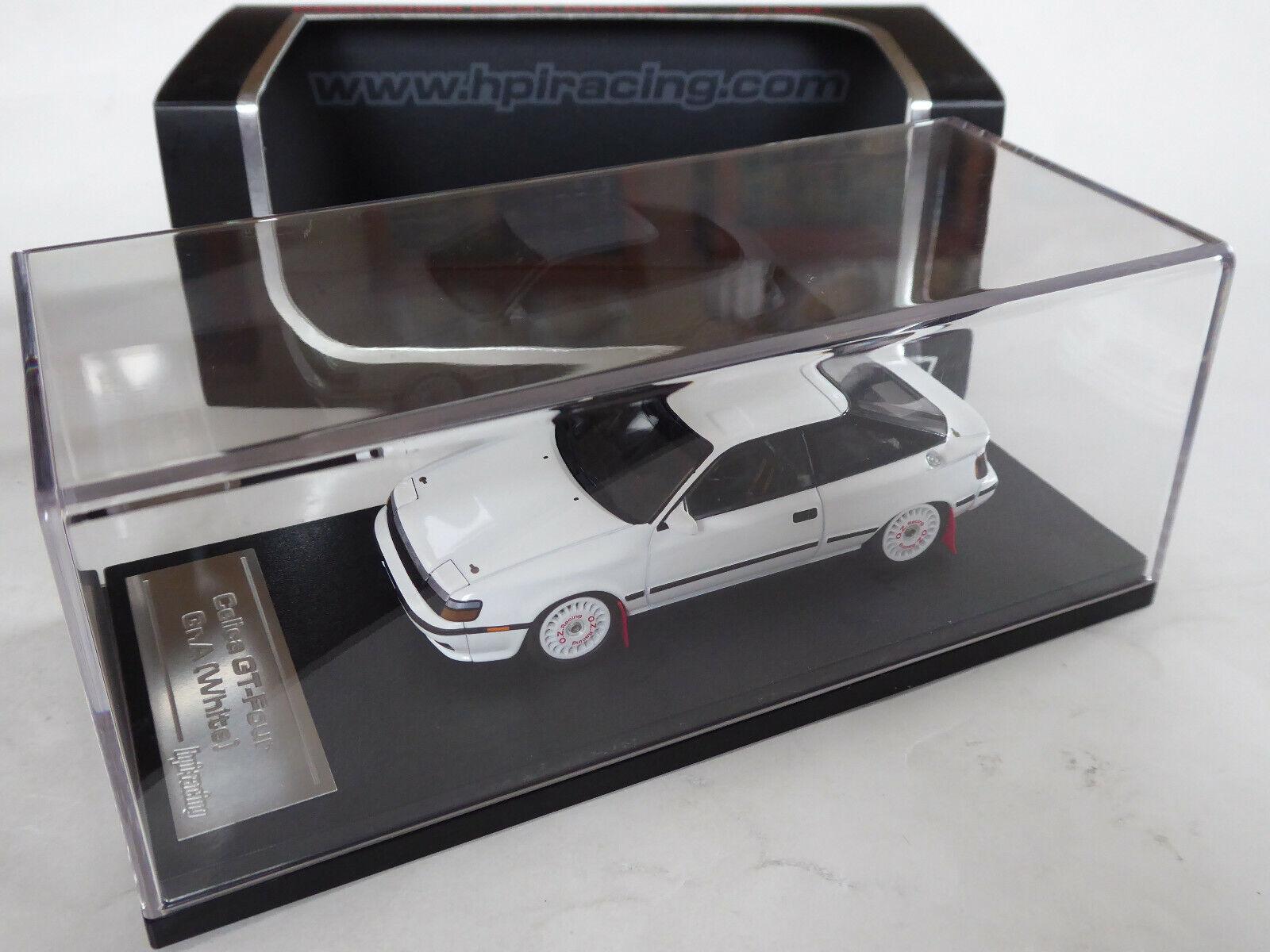 HPI 1 43 Toyota Celica GT-Four (ST165) Gr.A Rallye Test Car weiß Weiß OVP 8132  | Leicht zu reinigende Oberfläche