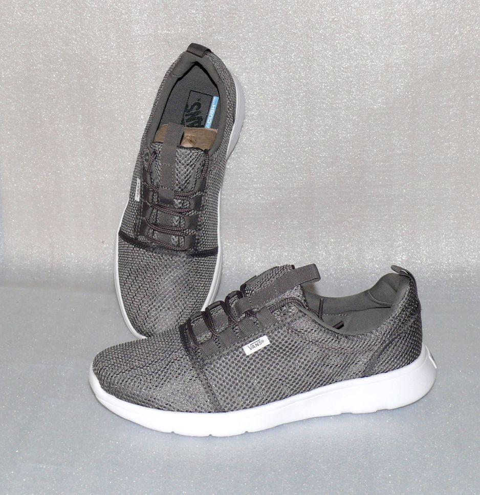 Vans ISO Sport Ultra Lite Staple Herren Schuhe Freizeit Sneaker 42 US9 Grau Weiß