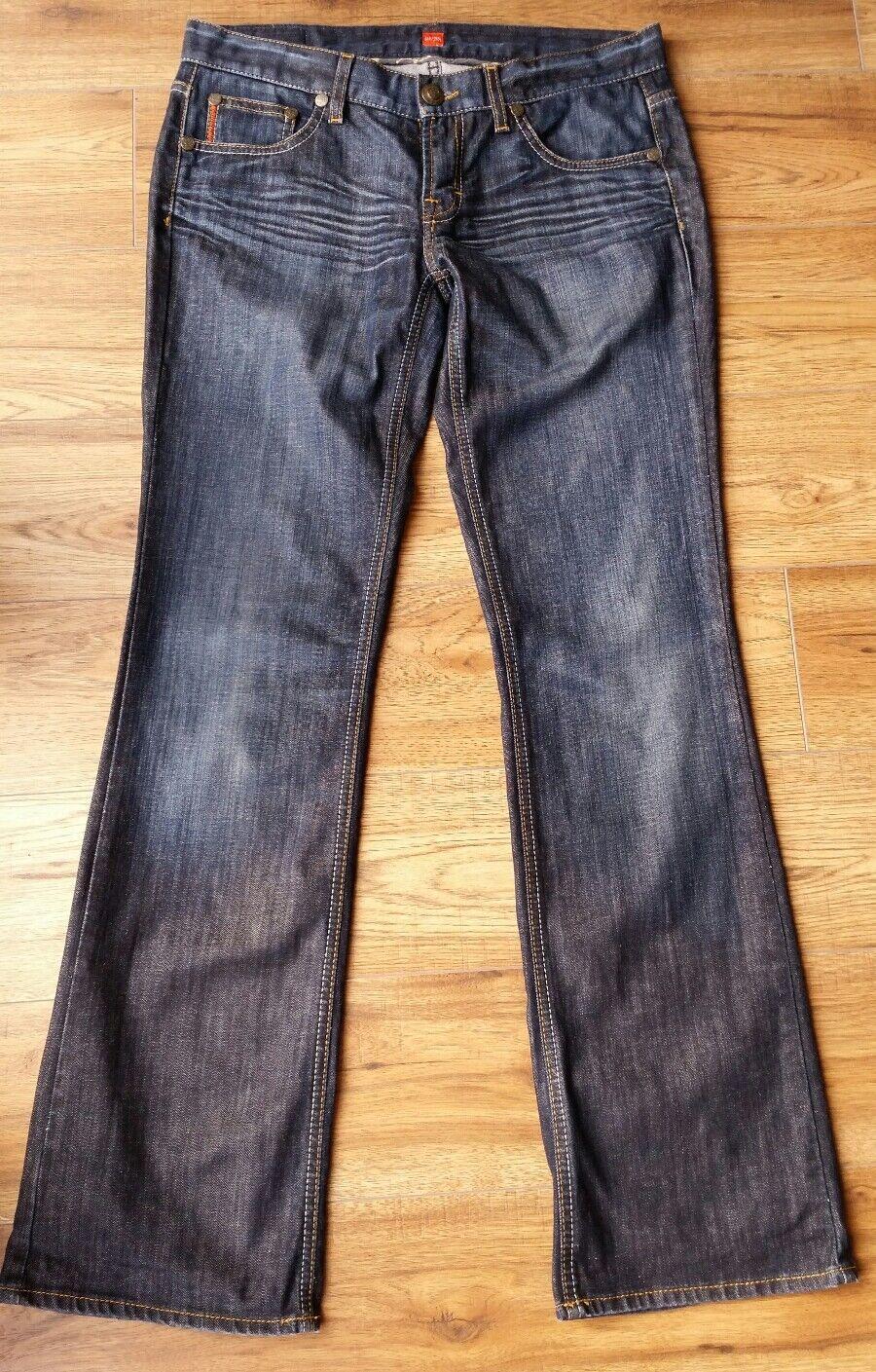 Great Looking 'Hugo Boss' Ginny orange Label, Ladies Jeans. Size W34 , L34 .