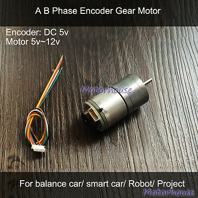 DC5V DC geared motor Smart car gear motor Robot motor Gearmotors