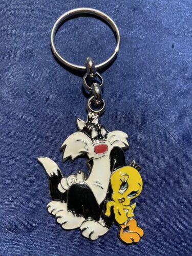 NEW Vintage Tweety /& Sylvester Looney Tunes Key Chain Warner Bros