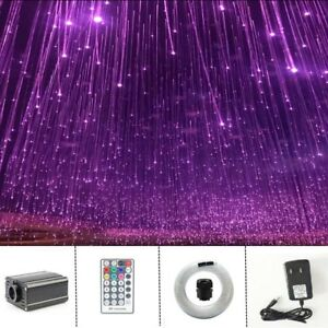 16w Sensory Room Curtain Waterfall Fiber Optic Led Light